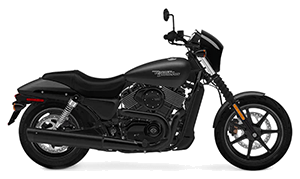 Image of a H-D Street Motorcycle