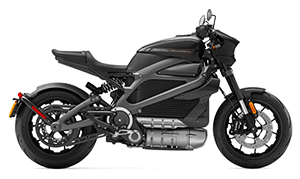 Image of a Harley-Davidson Electric Motorcycles